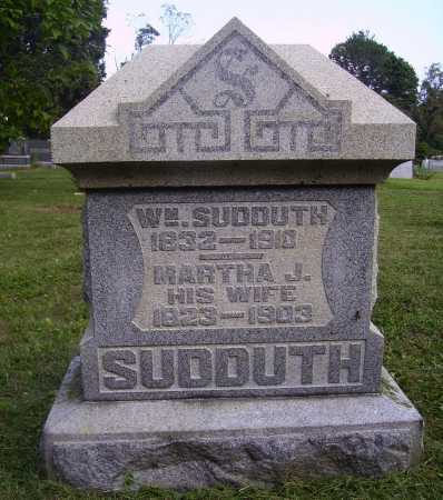 SUDDUTH, WILLIAM W. - Meigs County, Ohio | WILLIAM W. SUDDUTH - Ohio Gravestone Photos