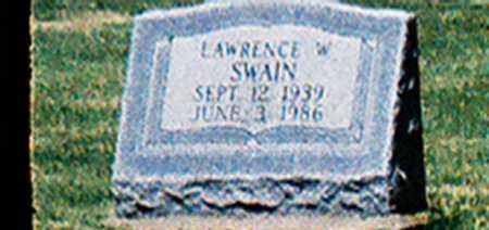 SWAIN, LAWRENCE W. - Meigs County, Ohio   LAWRENCE W. SWAIN - Ohio Gravestone Photos