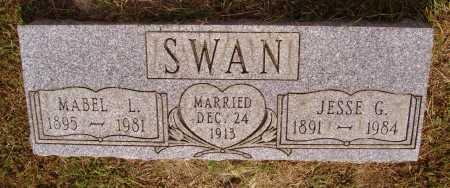 SWAN, JESSE G. - Meigs County, Ohio | JESSE G. SWAN - Ohio Gravestone Photos