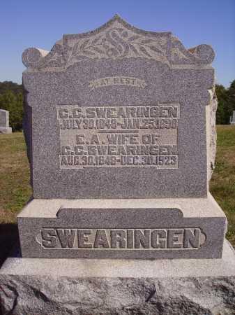 WEBB SWEARINGEN, ELIZABETH - Meigs County, Ohio | ELIZABETH WEBB SWEARINGEN - Ohio Gravestone Photos
