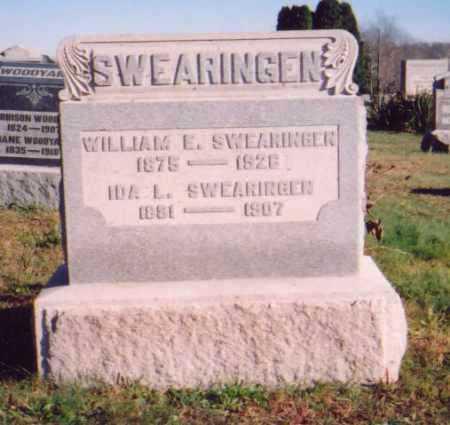 SWEARINGEN, IDA L. - Meigs County, Ohio   IDA L. SWEARINGEN - Ohio Gravestone Photos
