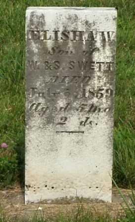 SWETT, ELISHA W. - Meigs County, Ohio   ELISHA W. SWETT - Ohio Gravestone Photos