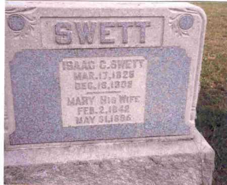 BOBO SWETT, MARY - Meigs County, Ohio | MARY BOBO SWETT - Ohio Gravestone Photos