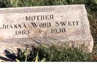 SWETT, JOANNA - Meigs County, Ohio | JOANNA SWETT - Ohio Gravestone Photos