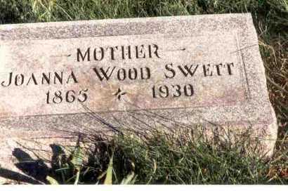WOOD SWETT, JOANNA - Meigs County, Ohio | JOANNA WOOD SWETT - Ohio Gravestone Photos