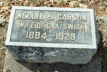 SWICK, NELLIE E. - Meigs County, Ohio | NELLIE E. SWICK - Ohio Gravestone Photos