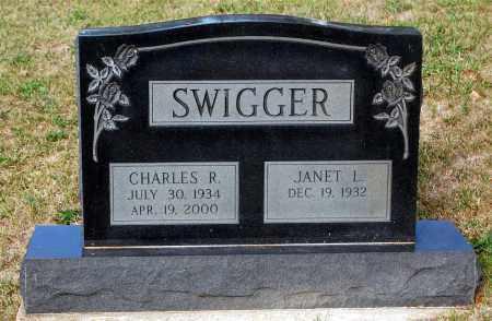 SWIGGER, JANET L. - Meigs County, Ohio | JANET L. SWIGGER - Ohio Gravestone Photos