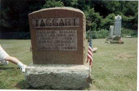 TAGGART, SARAH - Meigs County, Ohio | SARAH TAGGART - Ohio Gravestone Photos