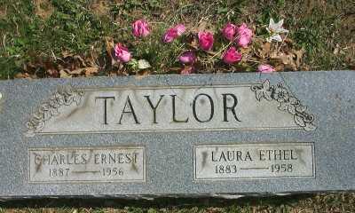 TAYLOR, LAURA ETHEL - Meigs County, Ohio | LAURA ETHEL TAYLOR - Ohio Gravestone Photos