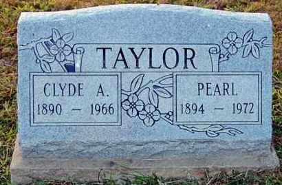 TAYLOR, CLYDE A. - Meigs County, Ohio | CLYDE A. TAYLOR - Ohio Gravestone Photos