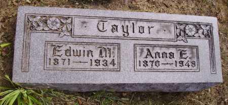 TAYLOR, EDWIN M. - Meigs County, Ohio | EDWIN M. TAYLOR - Ohio Gravestone Photos