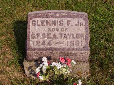 TAYLOR, GLENNIS F. JR - Meigs County, Ohio | GLENNIS F. JR TAYLOR - Ohio Gravestone Photos