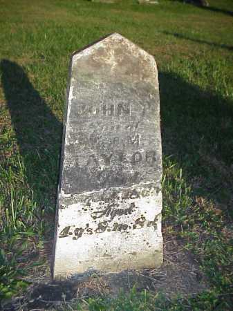 TAYLOR, JOHN F. OR T. - Meigs County, Ohio | JOHN F. OR T. TAYLOR - Ohio Gravestone Photos