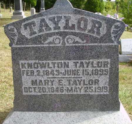 TAYLOR, MARY E. - Meigs County, Ohio   MARY E. TAYLOR - Ohio Gravestone Photos