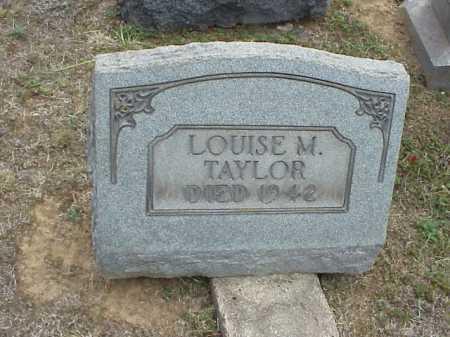 TAYLOR, LOUISE M. - Meigs County, Ohio   LOUISE M. TAYLOR - Ohio Gravestone Photos