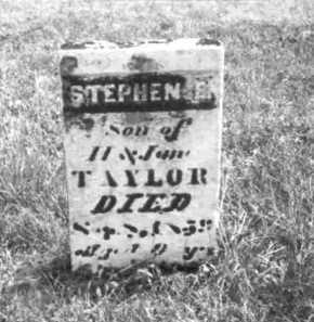 TAYLOR, STEPHEN E. - Meigs County, Ohio   STEPHEN E. TAYLOR - Ohio Gravestone Photos