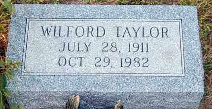 TAYLOR, WILFORD - Meigs County, Ohio | WILFORD TAYLOR - Ohio Gravestone Photos