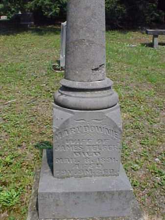 TELFER, MARY - Meigs County, Ohio | MARY TELFER - Ohio Gravestone Photos