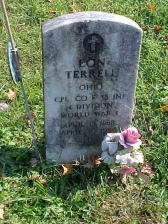 TERRELL, LON - Meigs County, Ohio | LON TERRELL - Ohio Gravestone Photos