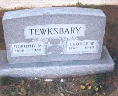 TEWKSBARY, GEORGE W. - Meigs County, Ohio | GEORGE W. TEWKSBARY - Ohio Gravestone Photos