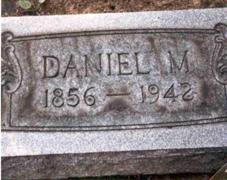 TEWKSBURY, DANIEL M. - Meigs County, Ohio | DANIEL M. TEWKSBURY - Ohio Gravestone Photos
