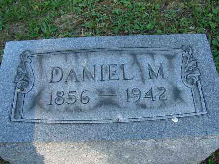 TEWKSBURY, DANIEL M - Meigs County, Ohio   DANIEL M TEWKSBURY - Ohio Gravestone Photos