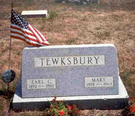 CECIL TEWKSBURY, MARY - Meigs County, Ohio | MARY CECIL TEWKSBURY - Ohio Gravestone Photos