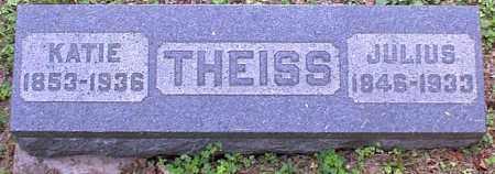 THEISS, JULIUS - Meigs County, Ohio | JULIUS THEISS - Ohio Gravestone Photos