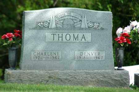 THOMA, MARY CHARLENE - Meigs County, Ohio | MARY CHARLENE THOMA - Ohio Gravestone Photos