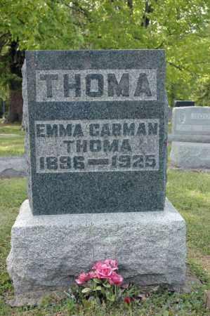 THOMA, EMMA - Meigs County, Ohio | EMMA THOMA - Ohio Gravestone Photos