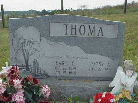 THOMA, EARL O. - Meigs County, Ohio | EARL O. THOMA - Ohio Gravestone Photos