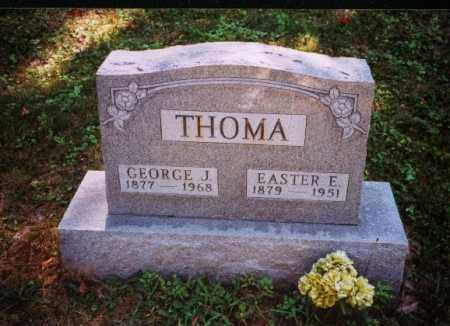 THOMA, GEORGE J. - Meigs County, Ohio   GEORGE J. THOMA - Ohio Gravestone Photos