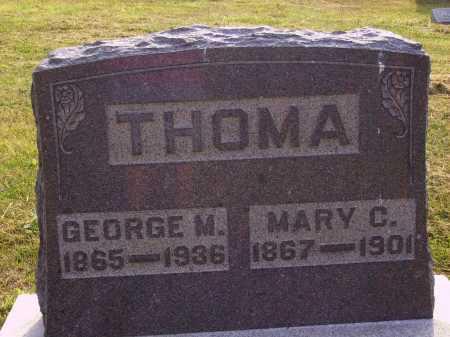 THOMA, MARY C. - Meigs County, Ohio   MARY C. THOMA - Ohio Gravestone Photos