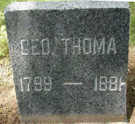 THOMA, GEORGE - Meigs County, Ohio | GEORGE THOMA - Ohio Gravestone Photos