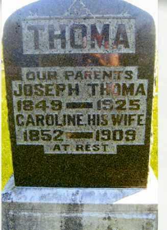THOMA, JOSEPH - Meigs County, Ohio | JOSEPH THOMA - Ohio Gravestone Photos