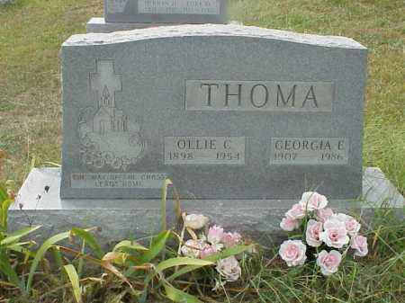 THOMA, GEORGIA E. - Meigs County, Ohio | GEORGIA E. THOMA - Ohio Gravestone Photos