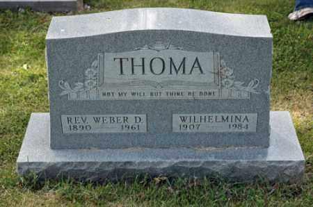 MICHAEL THOMA, WILHELMINA - Meigs County, Ohio | WILHELMINA MICHAEL THOMA - Ohio Gravestone Photos