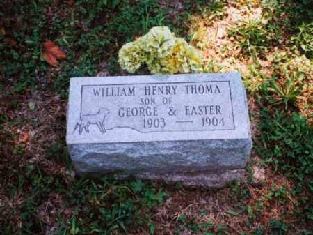 THOMA, WILLIAM HENRY - Meigs County, Ohio | WILLIAM HENRY THOMA - Ohio Gravestone Photos