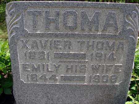 THOMA, EMILY - Meigs County, Ohio | EMILY THOMA - Ohio Gravestone Photos