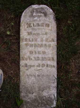 THOMAS, ELLEN - Meigs County, Ohio | ELLEN THOMAS - Ohio Gravestone Photos