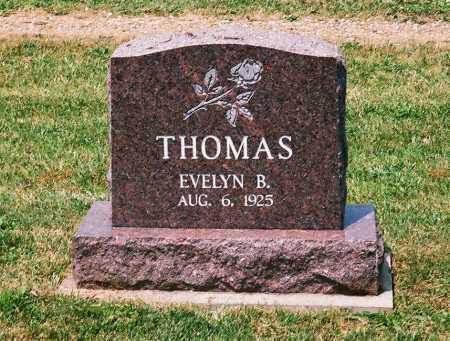 THOMAS, EVELYN B. - Meigs County, Ohio | EVELYN B. THOMAS - Ohio Gravestone Photos