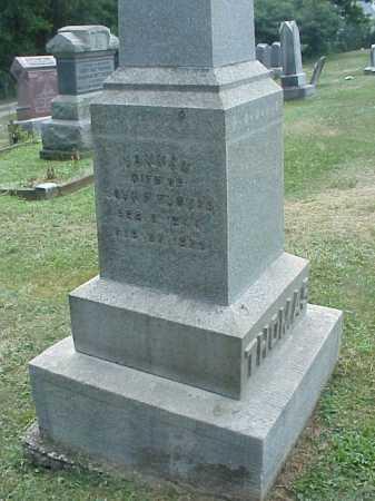 JENKINS THOMAS, HANNAH - Meigs County, Ohio | HANNAH JENKINS THOMAS - Ohio Gravestone Photos