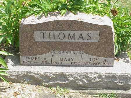 THOMAS, JAMES A. - Meigs County, Ohio | JAMES A. THOMAS - Ohio Gravestone Photos