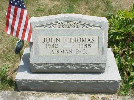 THOMAS, JOHN F. - Meigs County, Ohio | JOHN F. THOMAS - Ohio Gravestone Photos