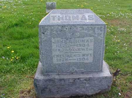 THOMAS, JOHN - Meigs County, Ohio   JOHN THOMAS - Ohio Gravestone Photos