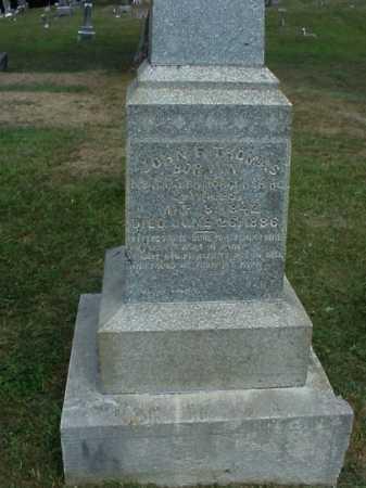 THOMAS, JOHN F. - Meigs County, Ohio   JOHN F. THOMAS - Ohio Gravestone Photos