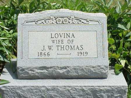THOMAS, LOVINA - Meigs County, Ohio | LOVINA THOMAS - Ohio Gravestone Photos