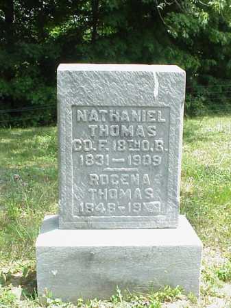 THOMAS, NATHANIEL - Meigs County, Ohio | NATHANIEL THOMAS - Ohio Gravestone Photos