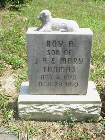 THOMAS, ROY A. - Meigs County, Ohio   ROY A. THOMAS - Ohio Gravestone Photos