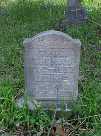 THOMAS, JENNIE - Meigs County, Ohio   JENNIE THOMAS - Ohio Gravestone Photos